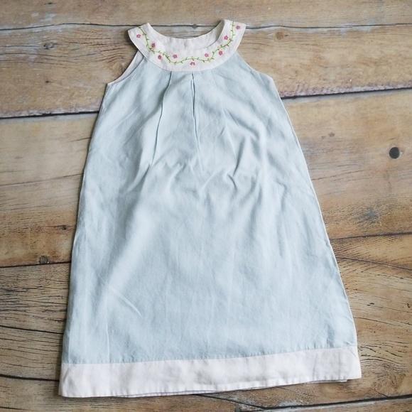 2fb2fd84f908 Anavini smocked girls linen dress. M_5b282a5bde6f6227c92add77